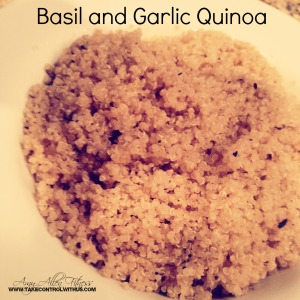 basil and garlic quinoa amyallen fitness