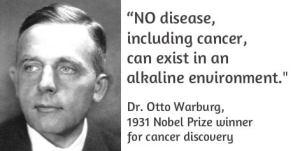 otto warburg alkaline environment cancer treatment