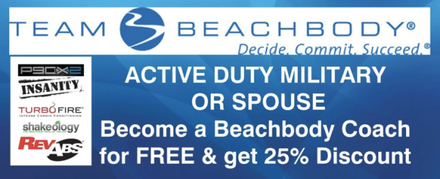 active duty military and their spouses can coach for free and get discount