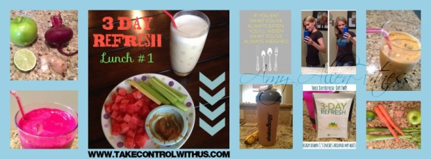 3 day refresh before after 3day detox clease beachbody cleanse three