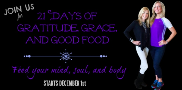 21 days of grace gratitude good food holiday challenge group amy allen alex blaine 21 day fix 21dayfix