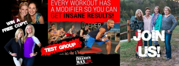 insanity Max:30 InsanityMax Max30 Shaun T join us challenge group official test determination modifier win free program