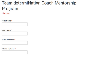 determination team beachbody application coach mentorship program