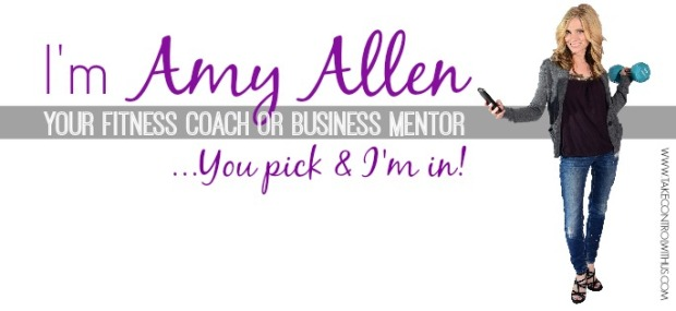 amy allen fitness coach or business mentor beachbody mentorship challenge group health