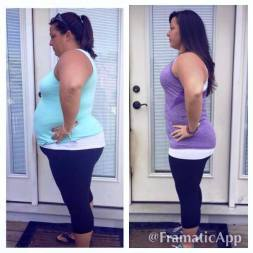 PiYo Combined with the 21 Day Fix for a total of 70 Pounds lost!!