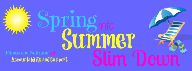spring into summer slimdown beachbody challenge 21 day fix shakeology accountability free coach amy allen